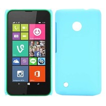 Lichtblauw hardcase hoesje Nokia Lumia 530