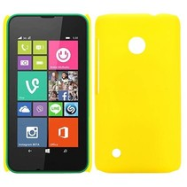 Geel hardcase hoesje Nokia Lumia 530