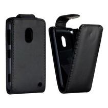 Flipcase hoes zwart Nokia Lumia 620