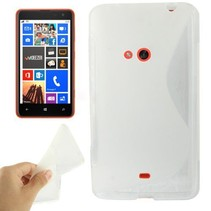 Transparant S-design TPU hoesje Nokia Lumia 625