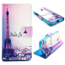 Parijs Bookcase hoes Nokia Lumia 630 / 635