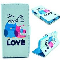 Love owl Bookcase hoes Nokia Lumia 630 / 635