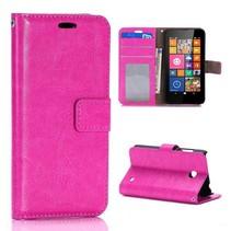 Roze Bookcase hoes Nokia Lumia 630 / 635