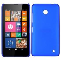 Blauw hardcase hoesje Nokia Lumia 630 / 635