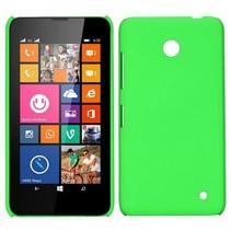 Groen hardcase hoesje Nokia Lumia 630 / 635