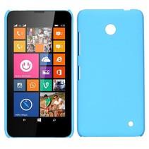 Lichtblauw hardcase hoesje Nokia Lumia 630 / 635