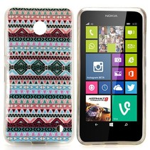 Aztec design TPU hoesje Nokia Lumia 630 / 635