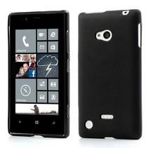Mat zwart TPU hoesje Nokia Lumia 720