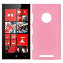 Roze hardcase hoesje Nokia Lumia 830