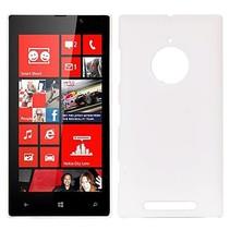 Wit hardcase hoesje Nokia Lumia 830