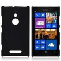 Zwart hardcase hoesje Nokia Lumia 925