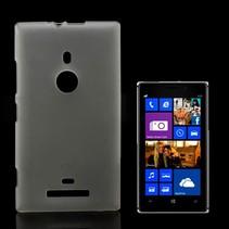 Mat transparant TPU hoesje Nokia Lumia 925