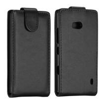 Zwart Flip Case hoesje Nokia Lumia 930