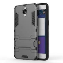 Grijs Hybrid Hoesje OnePlus 3
