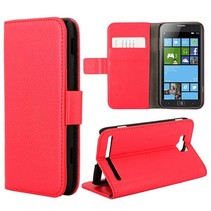 Bookcase hoesje rood Samsung Ativ S