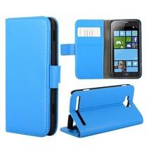 Bookcase hoesje blauw Samsung Ativ S
