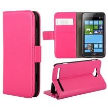 Bookcase hoesje roze Samsung Ativ S