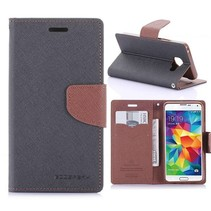 Fancy Diary Zwart Bookcase Hoesje Samsung Galaxy A3 2016