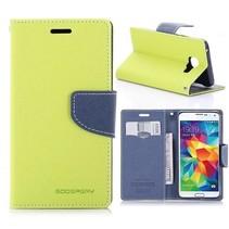 Fancy Diary Groen Bookcase Hoesje Samsung Galaxy A3 2016