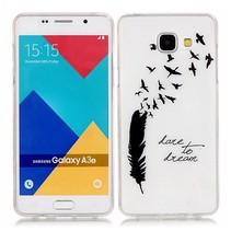 Dare to Dream TPU Hoesje Samsung Galaxy A3 2016