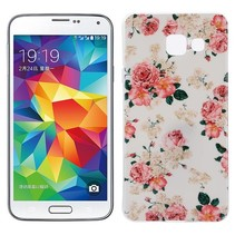 Bloemetjes TPU Hoesje Samsung Galaxy A3 2016