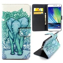 Olifant Bookcase hoes Samsung Galaxy A3