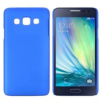 Blauw hardcase hoesje Samsung Galaxy A3
