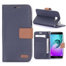 Blauw Bookcase Hoesje Samsung Galaxy A5 2016