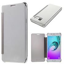 Zilver Mirror Bookcase Hoes Samsung Galaxy A5 2016