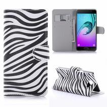 Zebra Bookcase Hoesje Samsung Galaxy A5 2016