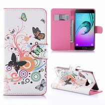 Vlinders Bookcase Hoesje Samsung Galaxy A5 2016