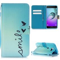 Smile Bookcase Hoesje Samsung Galaxy A5 2016