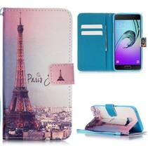 Eiffeltoren Bookcase Hoesje Samsung Galaxy A5 2016