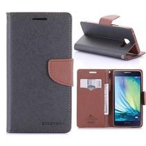 Diary Series Zwart Bookcase Hoesje Samsung Galaxy A5 2016