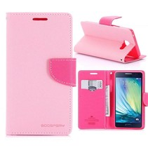 Diary Series Roze Bookcase Hoesje Samsung Galaxy A5 2016