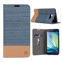 Blauw Duocolor Bookcase Hoes Samsung Galaxy A5 2016