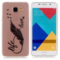 Life Love TPU Hoesje Samsung Galaxy A5 2016