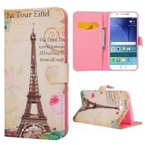 Eiffeltoren Bookcase hoes Samsung Galaxy A8