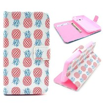 Ananas Bookcase hoes Samsung Galaxy Core 2