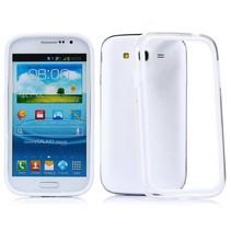 Wit/transparante bumper Samsung Galaxy Grand