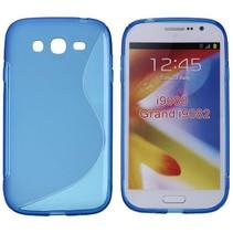 Blauw TPU S-design hoesje Samsung Galaxy Grand