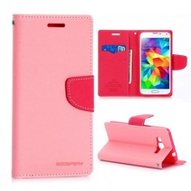 Diary roze Bookcase hoes Samsung Galaxy Grand Prime