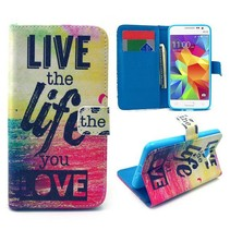 Life quote Bookcase hoes Samsung Galaxy Grand Prime
