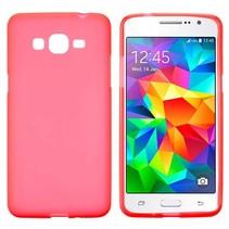 Rood TPU hoesje Samsung Galaxy Grand Prime