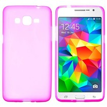 Roze TPU hoesje Samsung Galaxy Grand Prime
