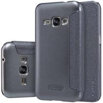 Sparkle Zwart Flipcover Samsung Galaxy J1 2016