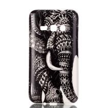 Olifant TPU Hoesje Samsung Galaxy J1 2016