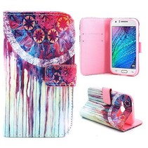Dromenvanger Booktype  hoesje Samsung Galaxy J1