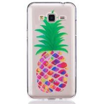 Ananas TPU Hoesje Samsung Galaxy J3 / J3 2016