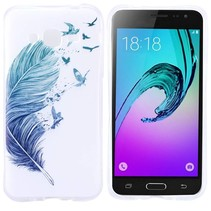 Feather & Birds TPU Hoesje Samsung Galaxy J3 / J3 2016